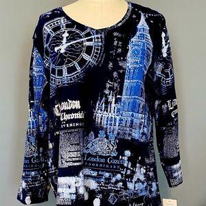 NWT WOMAN'S Alia London t-shirt